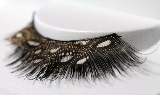 NYX Special Effects Lashes Review leopard