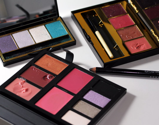 bobbi brown crystal eye palette face of the day products