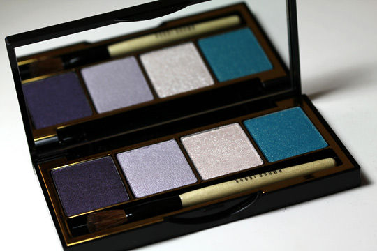 bobbi brown holiday 2010 crystal eye palette shadows