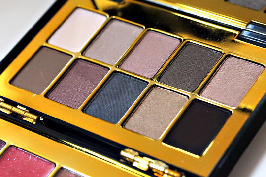 bobbi brown holiday 2010 modern classic lip eye palette eyeshadows all