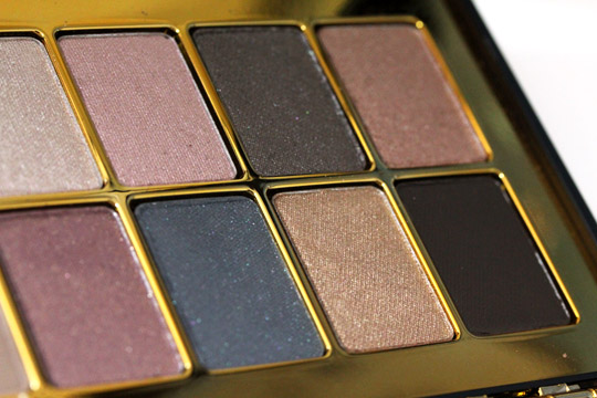 bobbi brown holiday 2010 modern classic lip eye palette eyeshadows left