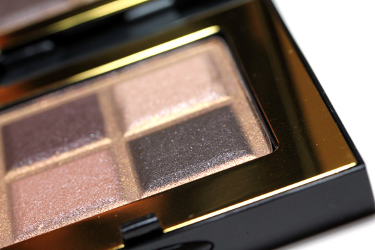 bobbi brown holiday 2010 sparkle glamour quad shadows lower right