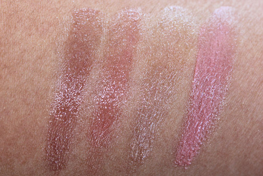 bobbi brown holiday 2010 swatches modern classic lip eye palette lipgloss