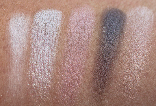 bobbi brown holiday 2010 swatches modern classic lip eye palette shadows 1