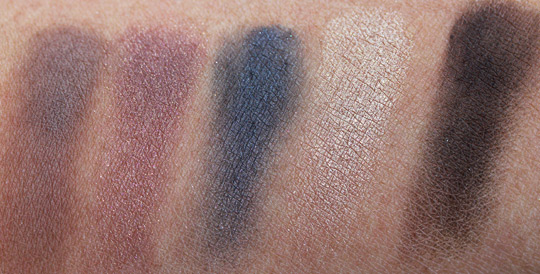 bobbi brown holiday 2010 swatches modern classic lip eye palette shadows 2