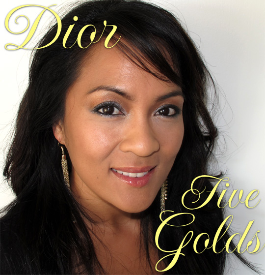 dior five golds