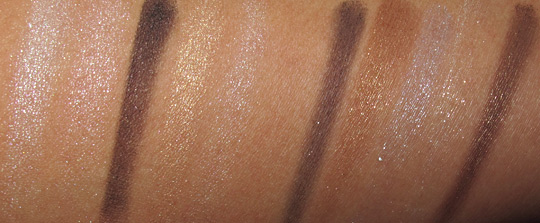 dior holiday 2010 makeup swatches 529 001