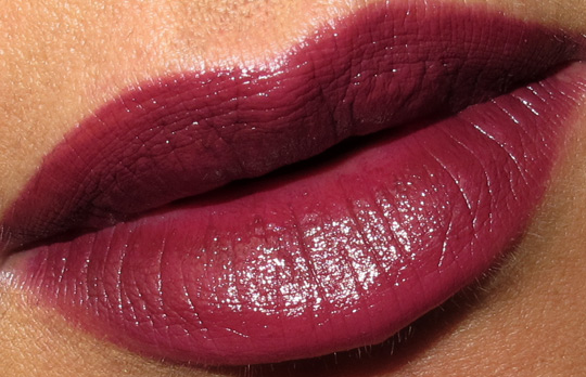 dolce gabbana evocative collection fall 2010 swatches review photos amethyst-lip-swatch