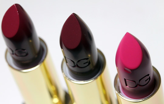 dolce gabbana evocative collection fall 2010 swatches review photos amethyst-lust-orchid