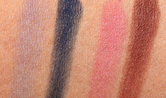 dolce gabbana evocative collection fall 2010 swatches review photos ocean-evocative-swatch