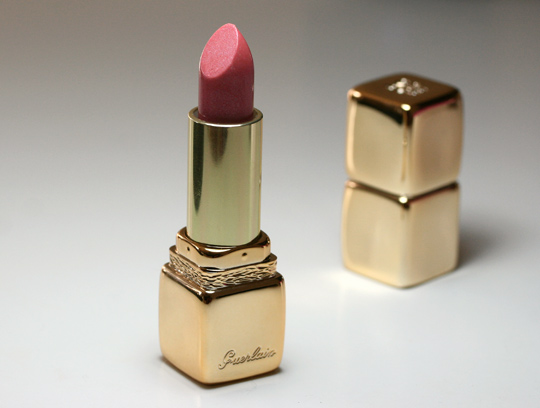 guerlain collection les ors kisskiss strass rose de la reine lipstick product picture