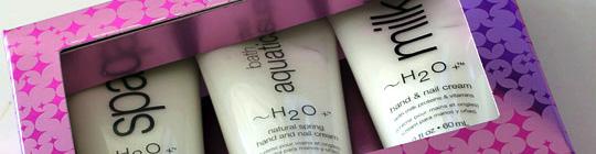 H2O Plus Hand and Nail Cream Trio