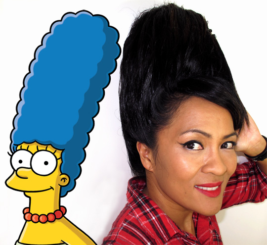 Marge Simpson's quirky, makeup-loving sister-in-law, Oct. 2010