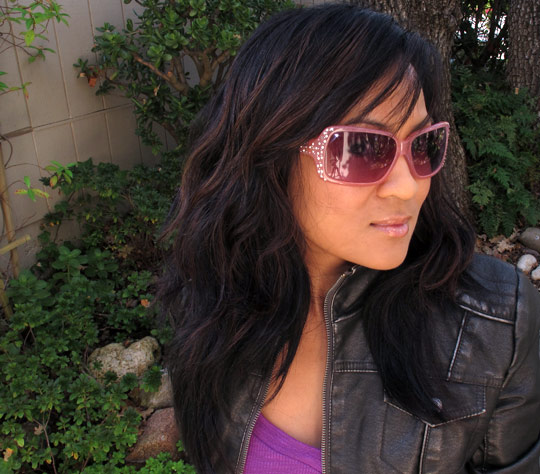 karen from makeup and beauty blog reviews lush goth juice