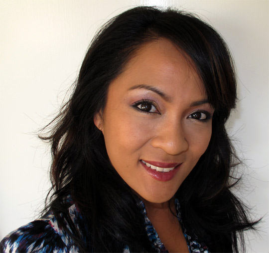 karen from makeup and beauty blog wearing nars holiday 2010