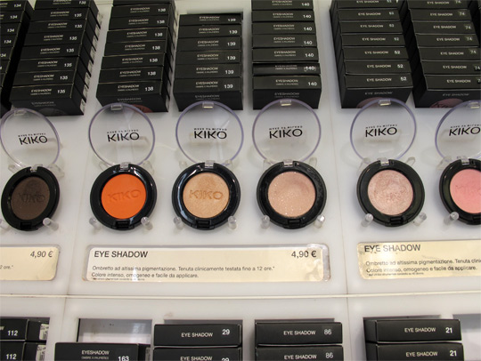 kiko cosmetics makeup eyeshadow single