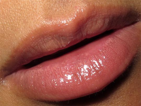 mac a tartan tale swatches 5 sassy coral lassies lipglass pretty quick