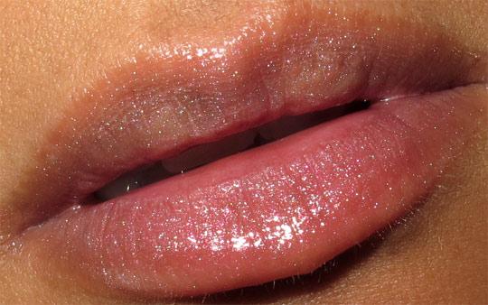 mac a tartan tale swatches 5 sassy coral lassies lipglass tad saucy