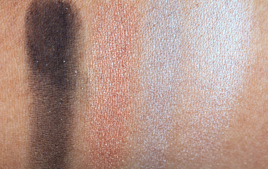 make up for ever rock for ever eye shadow palette review swatches 1