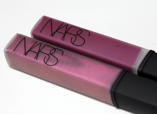 nars holiday 2010 swatches review photos downtown bougainville lip gloss product shot