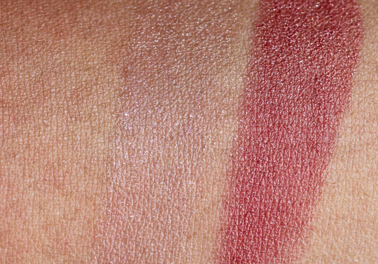 nars holiday 2010 swatches review photos petit monstre little darling on skin