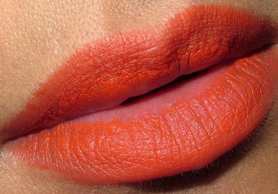 stila long wear lip color swatches review outrageous
