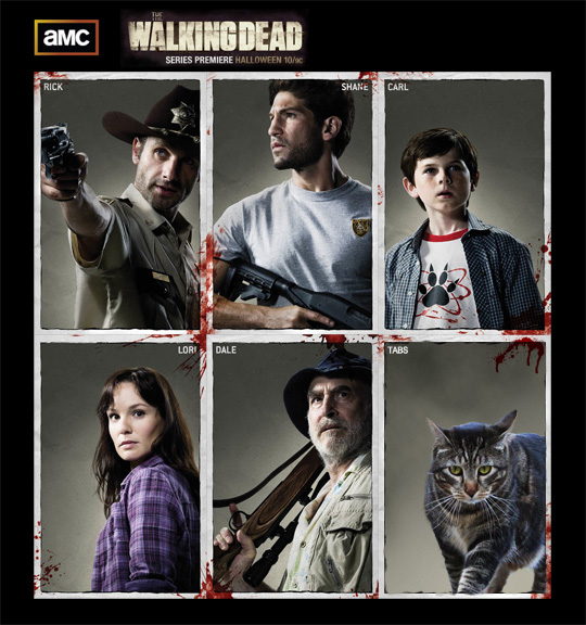 Tabs for AMC's The Walking Dead