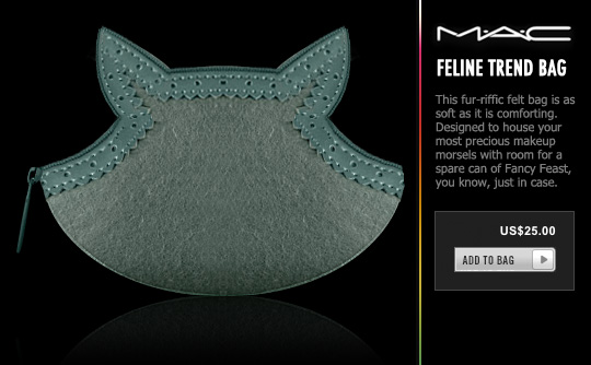 Tabs for the MAC Feline Trend Bag