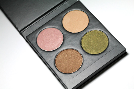 MUD Cares Palette review swatches photos open palette