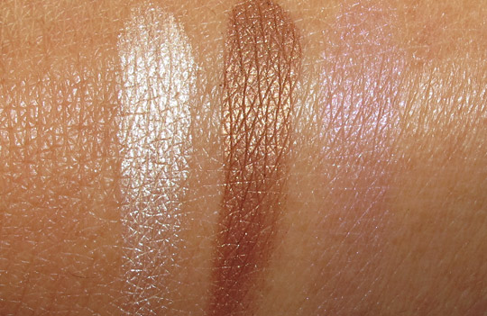 almay intense i-color review browns 001 swatches