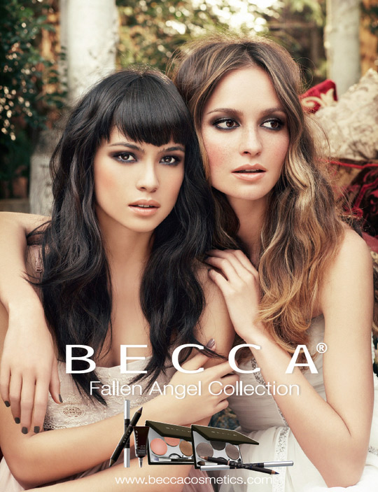 the becca fallen angel collection on makeup and beauty blog