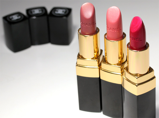 chanel cote d azur collection taffetas rose chintz perle rouge coco lip swatch open
