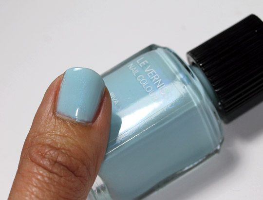 chanel riva le vernis nail colour review swatches photos single nail