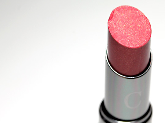 chantecaille lip chic review swatches photos tea rose product closeup