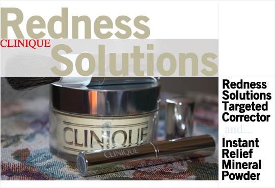The Clinique Redness Solutions Line