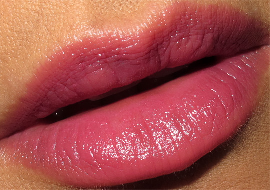karen from makeup and beauty blog reviews nyc new york color ultra last lipstick in berry rich lip closeup