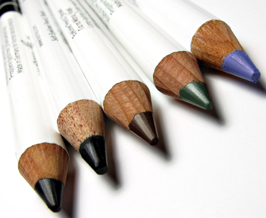 korres vitamin e 10 color pencil kit review swatches photos pencils 2