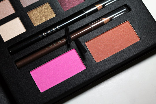 lorac box office hit review swatches photos blushes and eyeliner in case