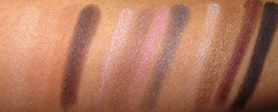 lorac box office hit review swatches photos eyeshadows all