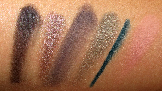 loreal midnight muse review swatches photos fotd swatches arm 1