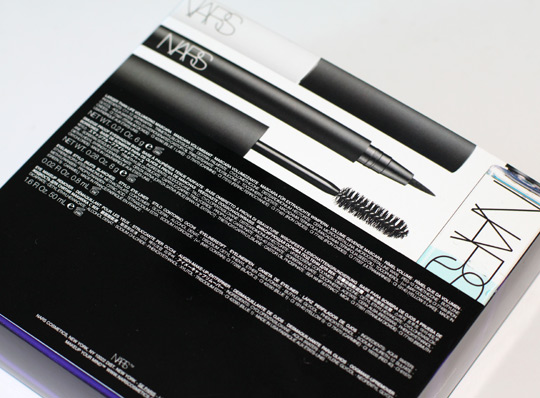 nars trouble maker eye set review back of box