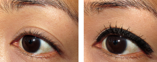nars trouble maker eye set review eye shots before after