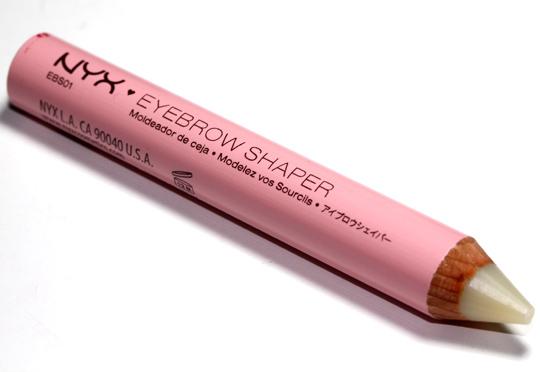 nyx eyebrow shaper review pencil