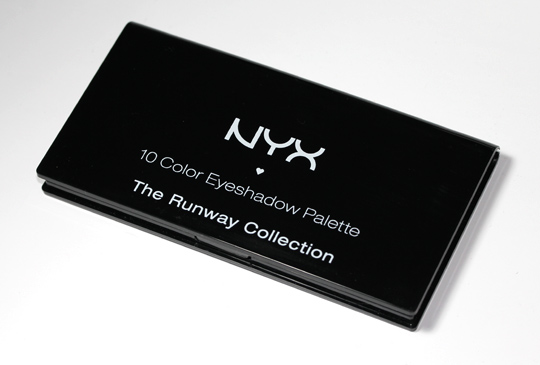 nyx runway collection palette palette top
