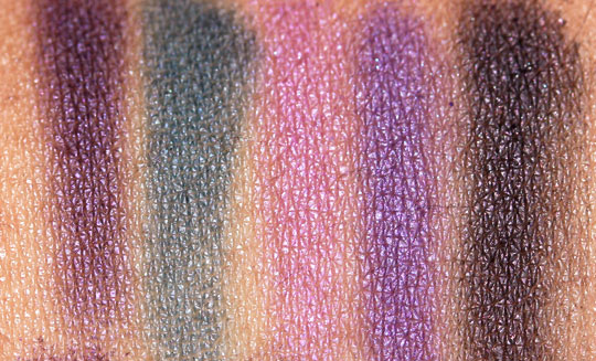 nyx velvet rope swatches 1