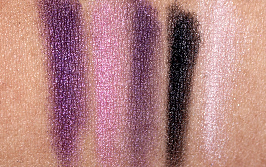 nyx velvet rope swatches 2