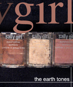 The Earth Tone Sally Girl Eye Shadow Connecting Compacts