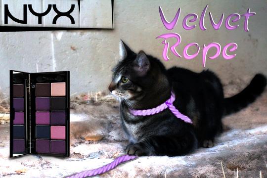 Tabs for NYX Velvet Rope