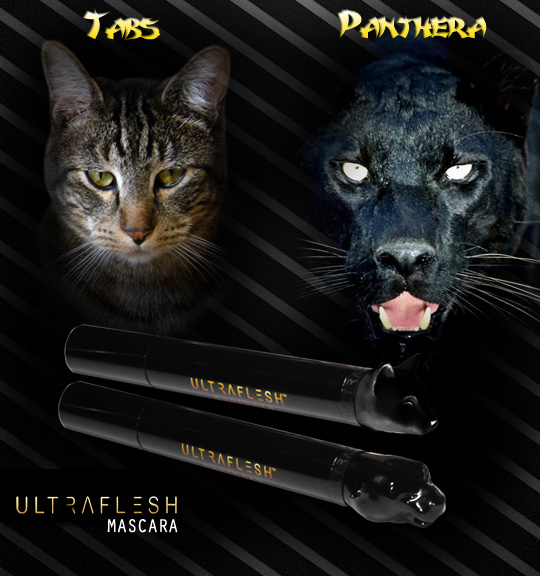 Tabs for Ultraflesh Panthero Mascara