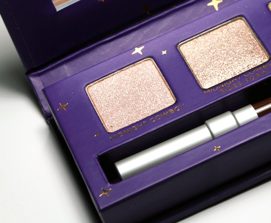 urban decay cowboy junkie set review swatches photos makeup and beauty blog eyeshadows left
